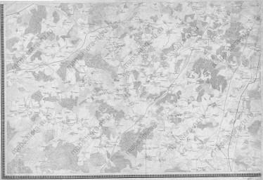 1878 Топографическая карта окрестностей Москвы. Военно-топографическое депо