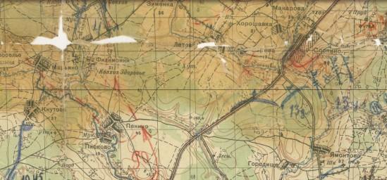 1929 РККА, Летово, 1:50000