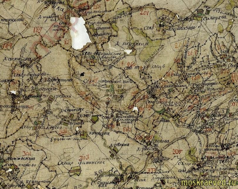 1778 Передельцы, Звенигородский уезд, 2v