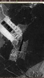 1966 Снимок Москвы со спутника, фрагм. Очистные и Просвещенец