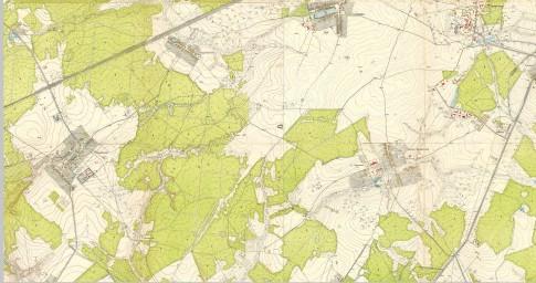 1952 План Москвы, фрагм. Николо-Хованское