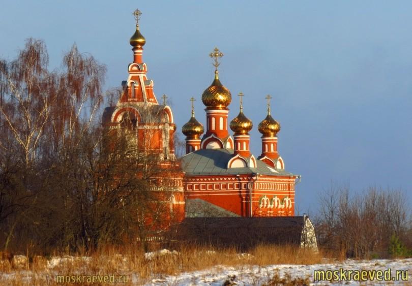 Спасская церковь в Большом Свинорье