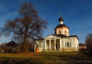 Церковь Иоанна Богослова в селе Красное