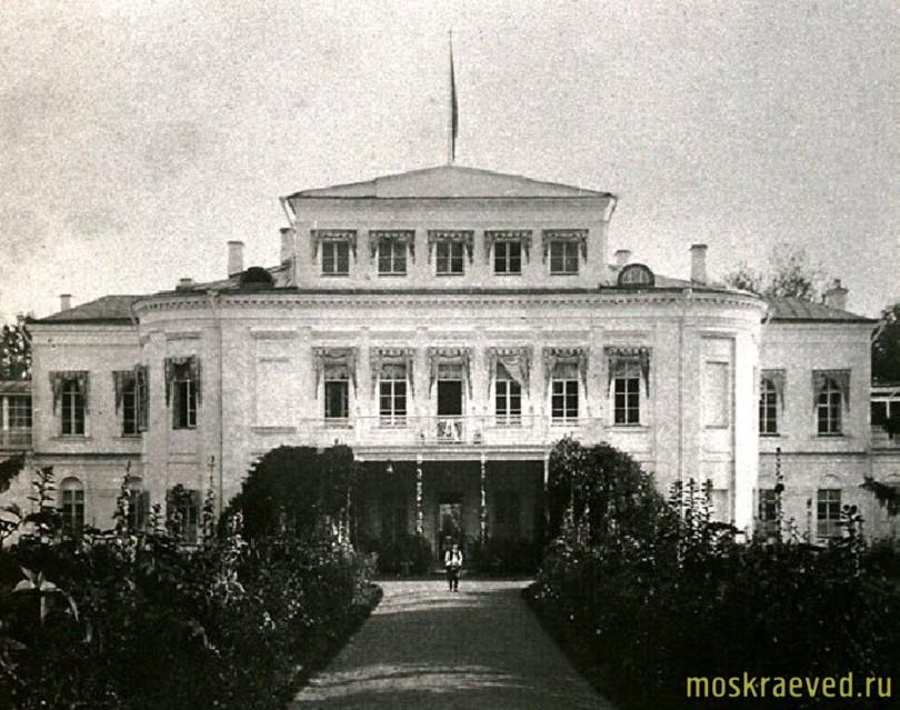 Усадьба Михайловское, ок. 1910 года