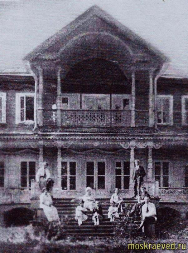 "Дача Хорошавка, 1912 год (ныне - территория полигона ""Коммунарка"")"