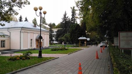 Покровская церковь в усадьбе Валуево