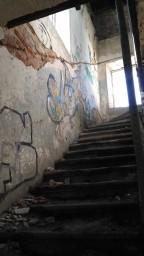 Лестница на верхний ярус храма