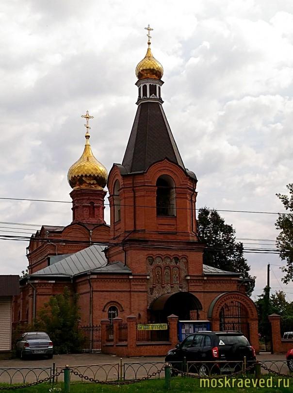 Казанский храм в Сосенках